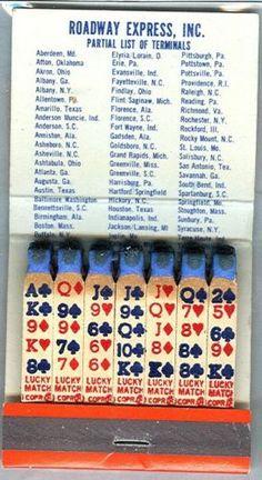 Rodeway Express Feature Matches Matchbook Complete Nu | eBay