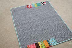 Back of quilt ideas. FITF: strip quilt love – a baby flea market fancy version   Film in the Fridge