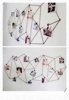 Easy DIY Art Ideas and Wall Decor Projects allseitig 2 The post Einfache DIY Art Ideas und Wall Decor Projects appeared first on Tiffany Bacote. Cute Room Decor, Diy Wall Decor, Art Decor, New Project Ideas, Simple Projects, Instagram Wall, Photo Deco, Idee Diy, Blog Deco