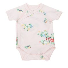 BABY GIRL FLORAL PRINT