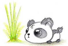 Image result for cute drawings of pandas More