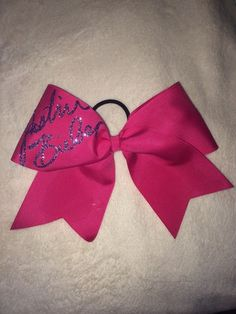 Justin Bieber signature Bow from Jessica's Cheer Bows on Storenvy Justin Bieber Signature, Justin Bieber Outfits, Bow Accessories, Cheer Bows, Hairbows, Indie Brands, Cheerleading, Party, Free