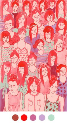 LEAH REENA GOREN via CUBICLE REFUGEE, Color Collective