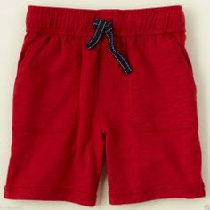 The Children's Place Great Toddler Boy's Red Knit Active Shorts - Sz 18-24mo #TheChildrensPlace #Shorts  - $9.99 - June 2, 2014 - #FreeShipping