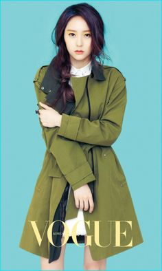 크리스탈 정(Krystal Jung) ( October 24, 1994) Singer, dancer, actress, model