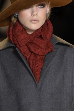 Carolina Herrera at New York Fashion Week Fall 2010 - StyleBistro