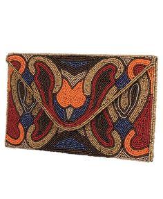 Beaded Mosaic Clutch - StyleSays