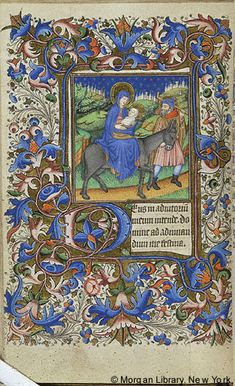 Book of Hours, MS G.9 fol. 54v - Images from Medieval and Renaissance Manuscripts - The Morgan Library & Museum