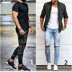 Which is your favourite style.. 1 or 2 ? . . #fashionblogger #fashionshow #fashionista #fashionable #fashionweek #avantstyle #jacket #look #cool #streetwear #model #style #musthave #weheartit #gentleman #skirt #clothes #clothing #tshirt #shoes #sneakers #styles #jeans #swagg #guy #boy #boys #man #fresh #dope