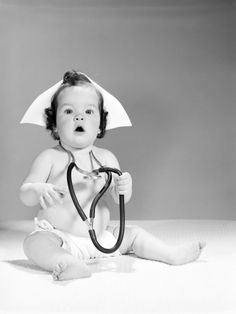 "baby girl nurse.  not usually a fan of ""baby photography"", but like this one!"