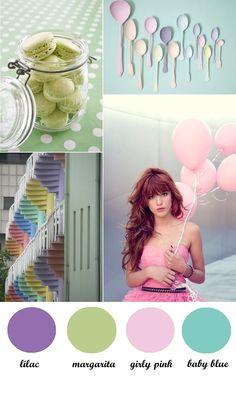 #pastel #colour #board