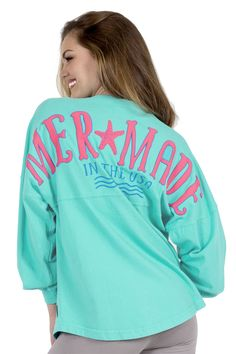 The only place to get an Authentic Mermade in USA Classic Crew Neck Spirit Jersey®