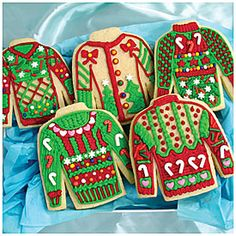 In the Mix™ Ugly Sweater Cookie Kit at Big Lots. I could never pull this off!