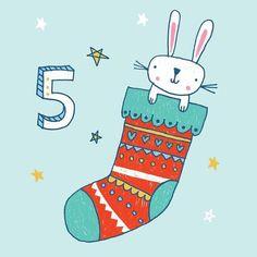 Day 5 - Advent 2016 - Lisa Barlow (Milk & Honey Studio) Countdown Calendar, Advent Calendar, Calendar Numbers, Milk And Honey, Advent 2016, Kids Rugs, Homemade, Instagram Posts, Christmas