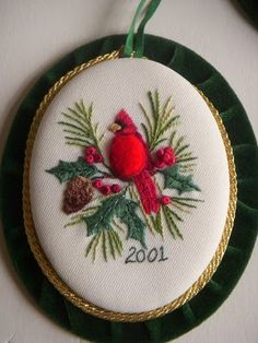 embroidery by Shirlee Fassell