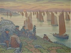 Henri Rivière (1864 -1951) French artist and designer ~ Blog of an Art Admirer