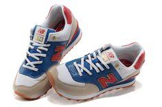 Zapatos 2013 de los hombres auténticos 574 edición olímpica blanco límite T compran