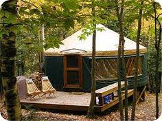 Lake Superior Paddling Yurt