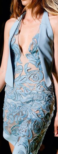 Miami South Beach :: In The Fashion| Serafini Amelia| ❤ VERSACE 2014