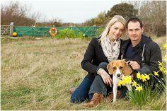 Suffolk Wedding Photographer | A Spring Shingle Street Engagement in Suffolk / Jenny & Daniel