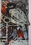 Sue Brown print making Collagraph Printmaking, Textile Prints, Art Prints, Gum Arabic, Glass Birds, Bird Art, Art Techniques, Contemporary Artists, Screen Printing