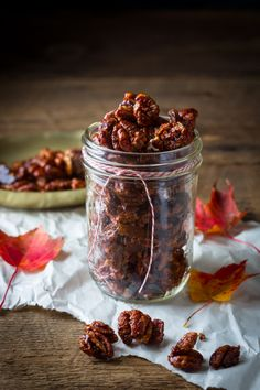 Chocolate chili spiced pecans Recipe Chocolate Chili, Spiced