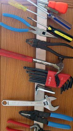Magnetic Tool Storage