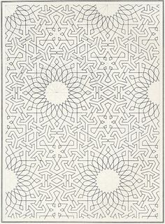 Elements of Islamic art, Joules Bourgoin  #pattern