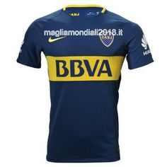 Home Nuova Maglia Boca Juniors 2017-2018