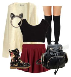"""""""Cute Teen Outfits"""" by emmasspam ❤ liked on Polyvore featuring moda"""