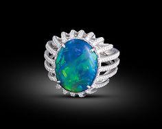 David Webb jewelry opals - Google Search #opalsaustralia