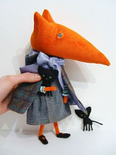 #Fox #Doll. Bring back my childhood now, please.