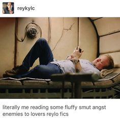 Literally me writing smut angst Reylo fics. Kylo Rey, Rian Johnson, Han And Leia, Double Dare, Star Wars Outfits, Star War 3, Last Jedi, Disney Star Wars, Reylo