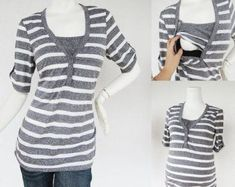 54ca9b4a08a4e Modern Mummy Maternity Clothes Nursing Tops by ModernMummyMaternity