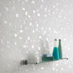 Graham & Brown - Spa Shimmer Bathroom Wallpaper - 16634
