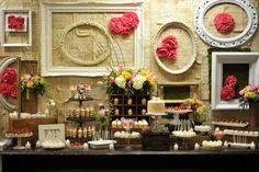 would be an awesome dessert buffet!  wedding shower!!!   wedding reception