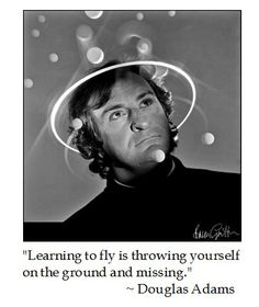 Douglas Adams on Learning