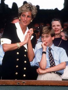 7/2/1994: The Wimbledon Championships, with Diana, Princess of Wales (Merton, London)