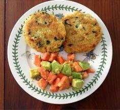 Gluten Free in Orlando: Spinach & Feta Quinoa Burgers