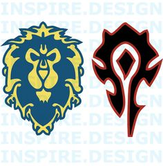 Enjoy World of Warcraft for like always? Do you want to represent whose side you fight for? You can choose between Horde or Alliance or if you are anything like me, you play both sides >_>  The Alliance Logo Colors: Blue with Yellow Size: 5  The Horde Logo Colors: Black with Red Size 5   The Decal can be applied to nearly any kind of smooth and clean surfaces including but not limited to glass, most metals, vehicles, other vinyl products, plastic, coated fiberglass, smooth wood (prefera...