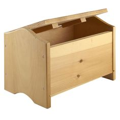 <div>This unfinished wood chest is an ideal addition for your storage needs. The unfinished whit...