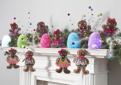 Decorated Mantles: Candy Wonderland