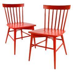 Windsor Dining Chair (Set of 2) - Threshold™ - Orange