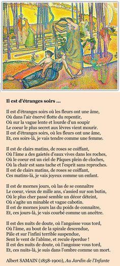 Albert Samain, Il est d'étranges soirs Quote Citation, Haiku, About Me Blog, Inspirational Quotes, Thoughts, Chakras, Attitude, Album, Creativity