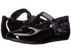 Baby Deer - Patent Maryjane (Infant/Toddler) (Black) Girls Shoes