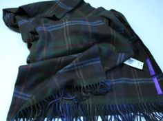 RALPH LAUREN COLLECTION CASHMERE SCARF-MADE IN ENGLAND