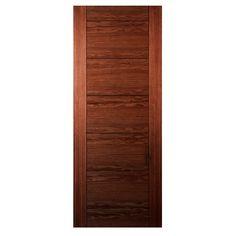 Internal Seville Walnut Veneer Prefinished Door
