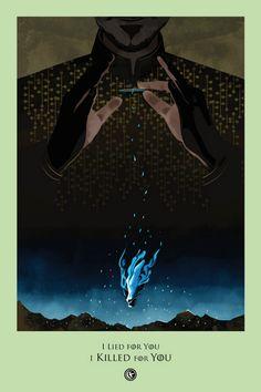 Tanto a legião de fãs como as homenagens a Game of Thrones não param de crescer.  No site Beautiful Death  foram colocados vários posters co...