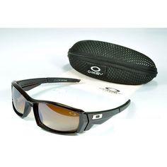 Oakley Men'S Sunglasses Brown Lens Black Frames-20657