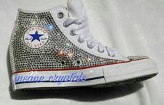 Check out this item in my Etsy shop https://www.etsy.com/listing/498817311/womens-high-top-converse-sneakers